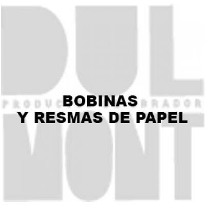 BOBINAS Y RESMAS DE PAPEL