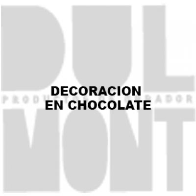 DECORACION EN CHOCOLATE