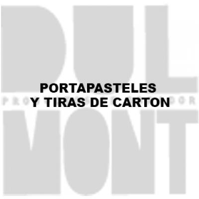 PORTAPASTELES Y TIRAS DE CARTON
