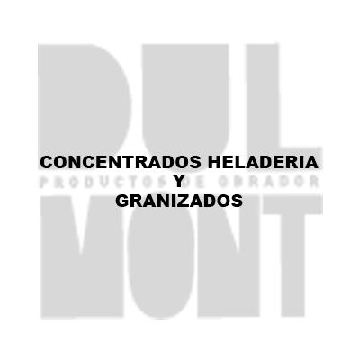 CONCENTRADOS HELADERIA Y GRANIZADOS
